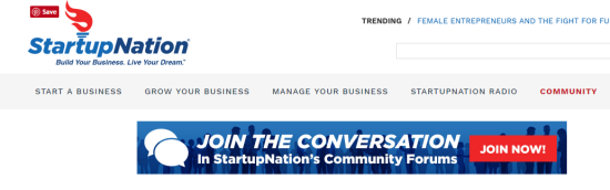 best websites for small business owners startupnation