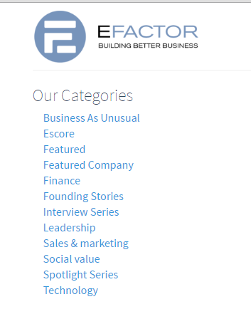 best websites for small business owners efactor